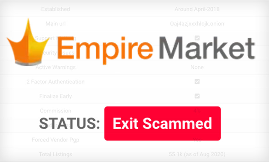 Bye-Bye Bitcoins: Empire Darknet Market 'Exit Scams'
