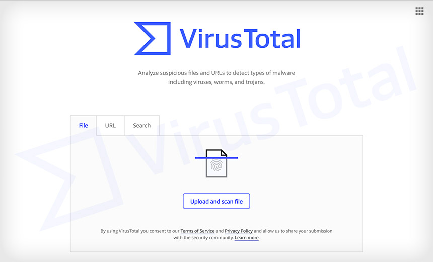 Black: Bug Shared Content Files with VirusTotal