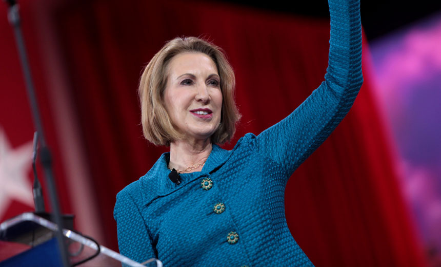 Fiorina Wants Cyber Command for U.S. Government