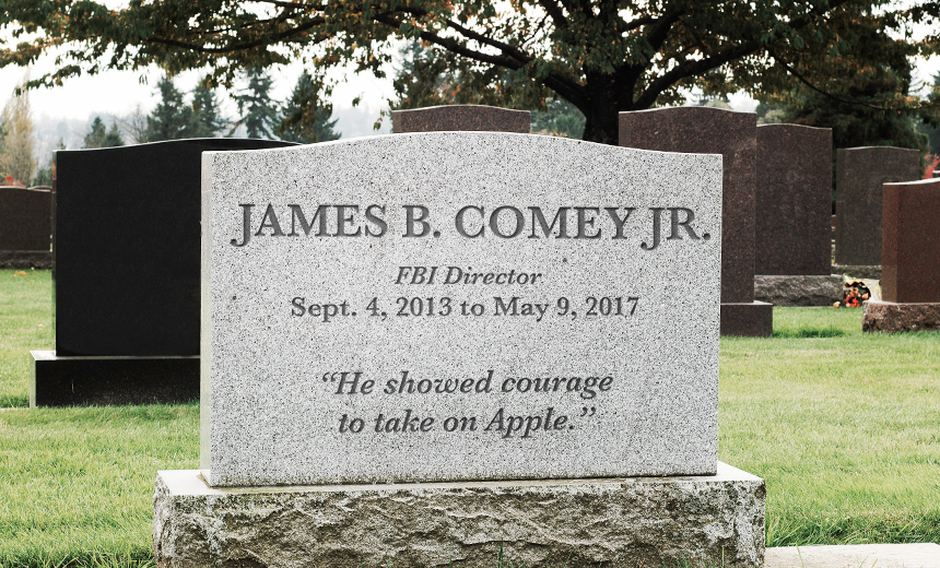 The Cybersecurity Legacy of James Comey