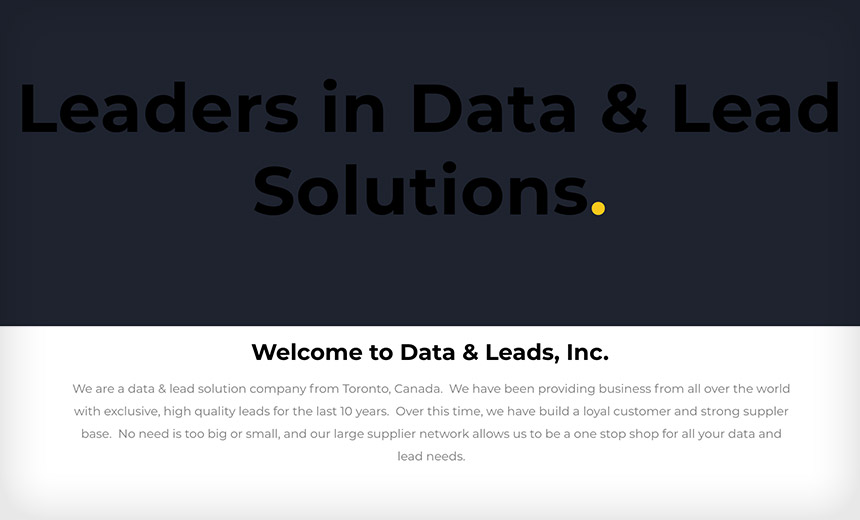 'Data & Leads' Site Disappears After Data Exposure Alert