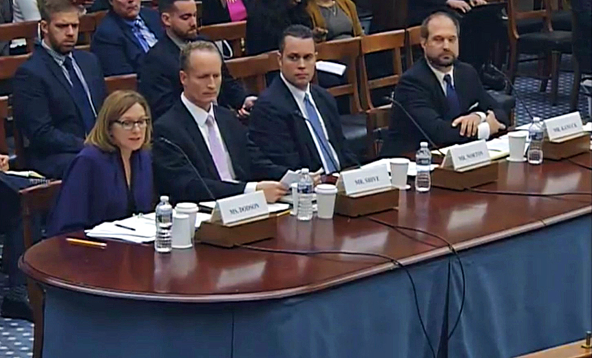 Dearth of Support for Kaspersky at Congressional Hearing