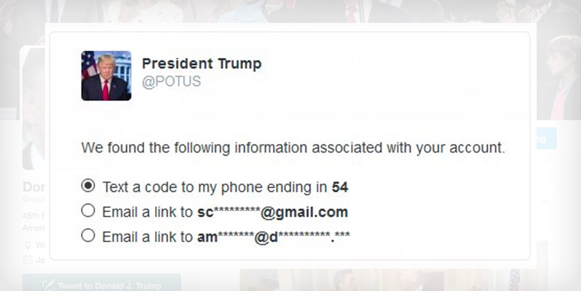 Hacker Issues Twitter Security Fail Warning to Trump