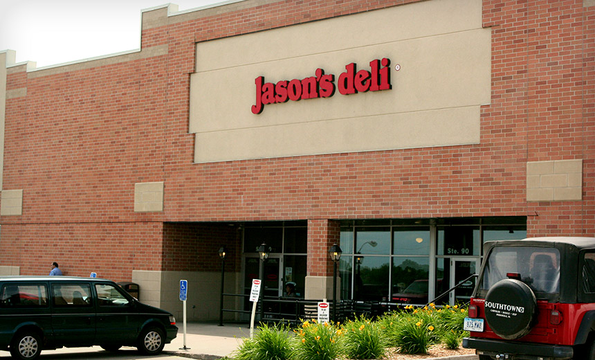 Jason's Deli: Hackers Dine Out on 2 Million Payment Cards