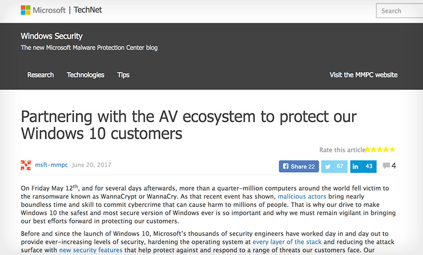 Microsoft Defends AV Handling After Kaspersky Antitrust Lawsuits
