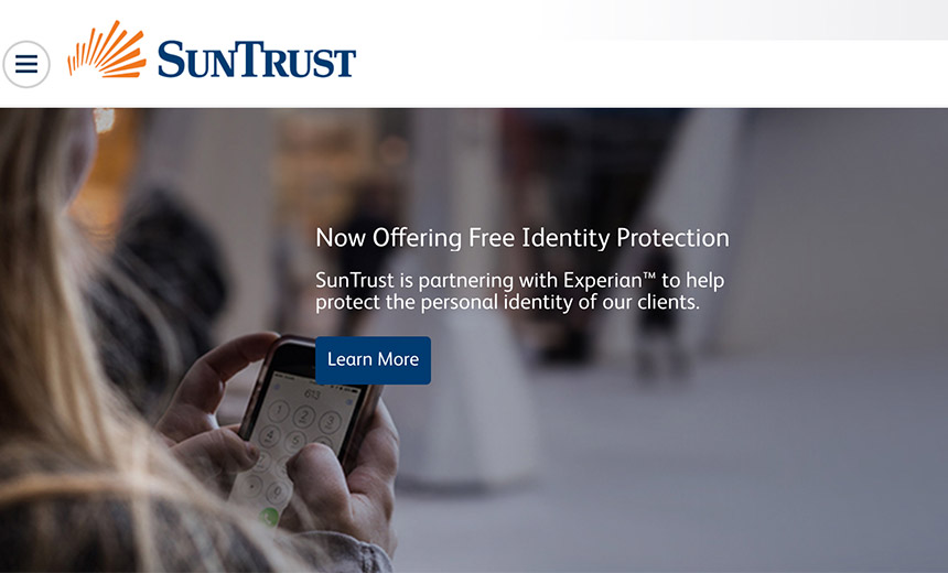 SunTrust: 1.5 Million Clients' Details Potentially Stolen