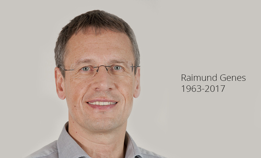A Tribute to the Late Raimund Genes, CTO at Trend Micro