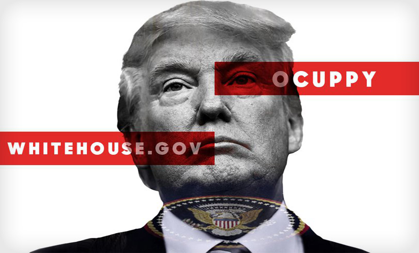 Trump Inauguration Protest Seeks to DDoS White House Site