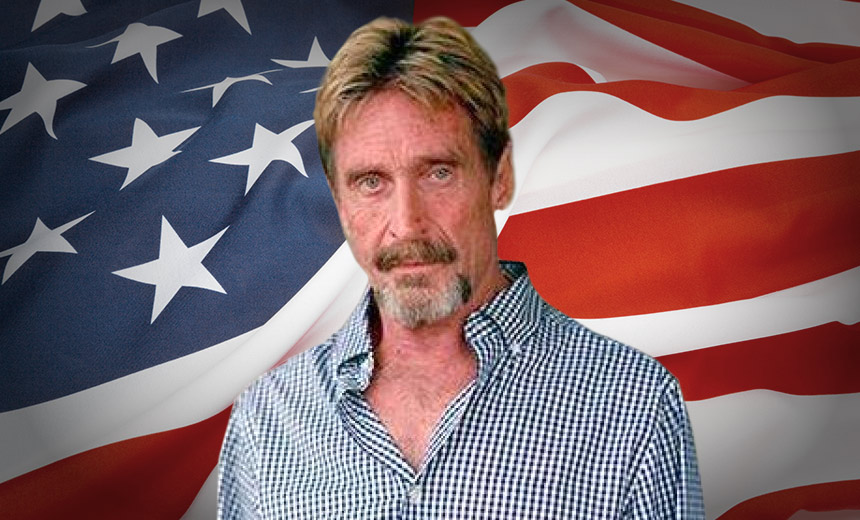 Guess Who's Running for President? John McAfee